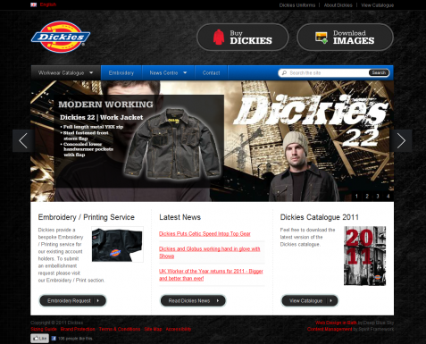 Clothing Website Design & SEO