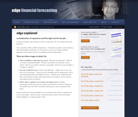 Accountancy Web Design & SEO