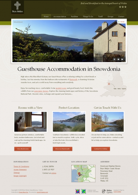 Fabulous Hotel Web Design