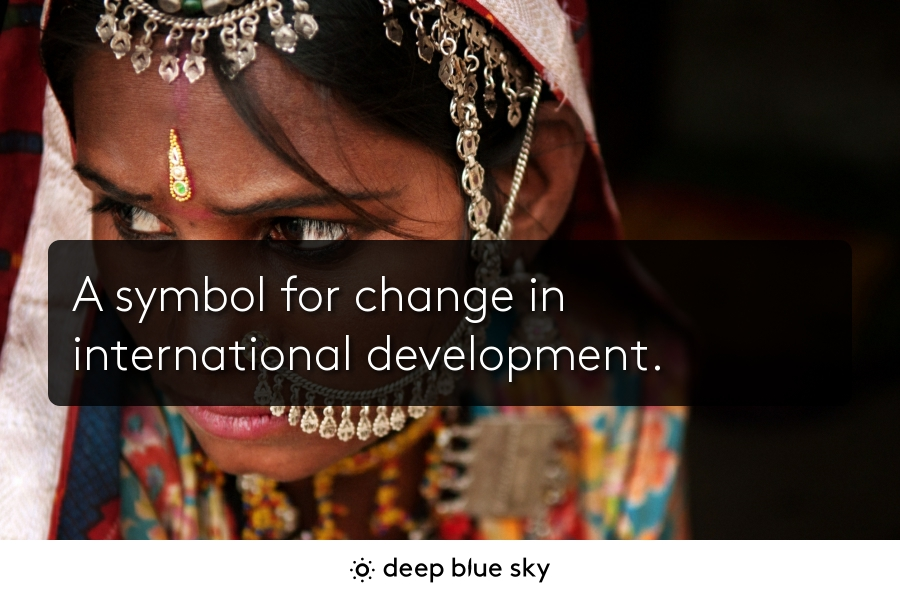 A Symbol For Change In International Development Free Digital